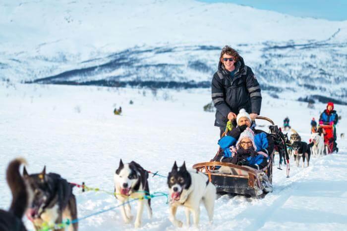 shore excursions Tromso Dog Sled Tour