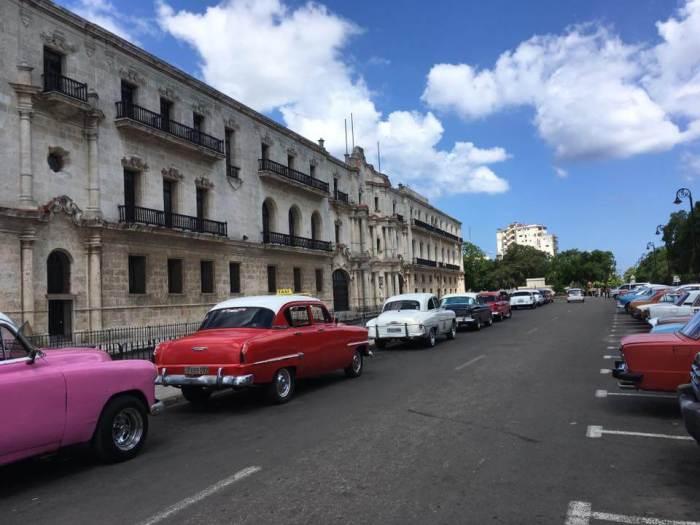 Havana Old Cars Military Veterans Cruise Cuba