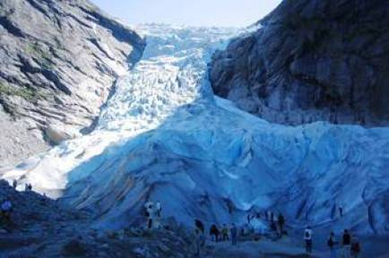 Briksdahl Glacier Military and Veteran Discounts on all Northern Europe Cruises