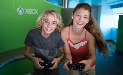 Xbox Gaming Celebrity Cruises