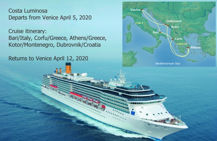 Luminosa45 Spring Break Cruise Deals for Military Families in Europe