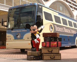 Mickey and Disney's Magical Express (c) Disney