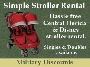 Disney World Stroller Discount For Military