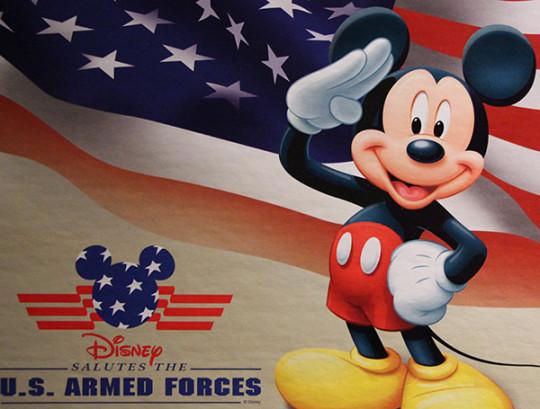 Disney's Armed Forces Salute Renewed for October 2013 - September 2014