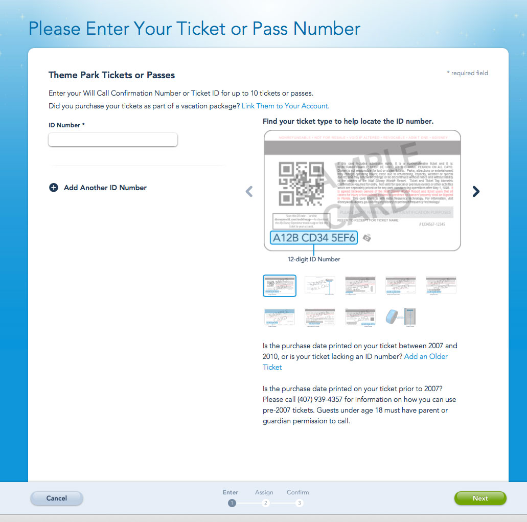 Linking Disney Military Tickets and FastPass Plus Reservations |
