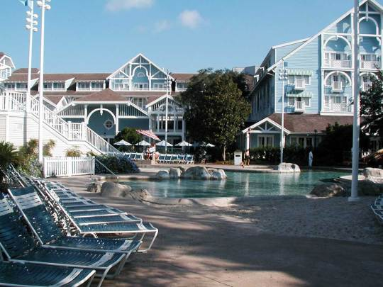 Walt Disney World's Beach Club Resort - Stormalong Bay