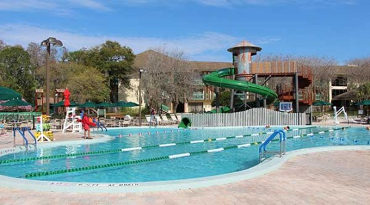 Mill Pond Pool and Slide