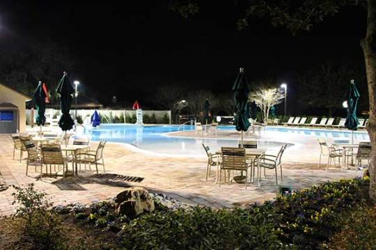 Magnolia-Poolside-Patio-Night