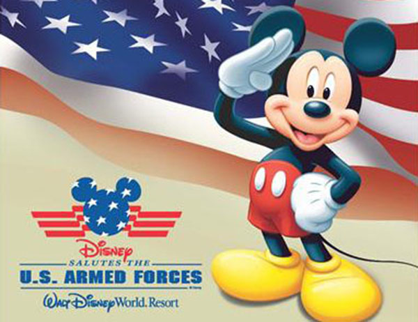 2020 Disney Armed Forces Salute