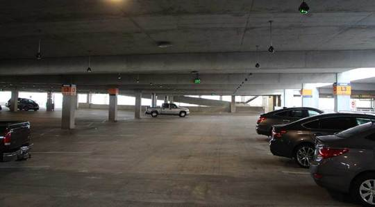 Disney-Springs-High-Tech-Parking-Open-Row