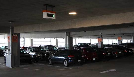Disney-Springs-High-Tech-Parking-Row-Indicator
