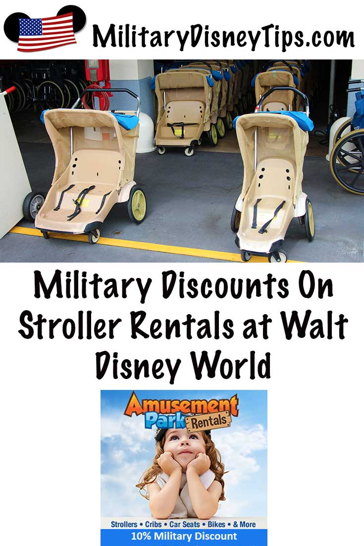 WDW Stroller Military Discount