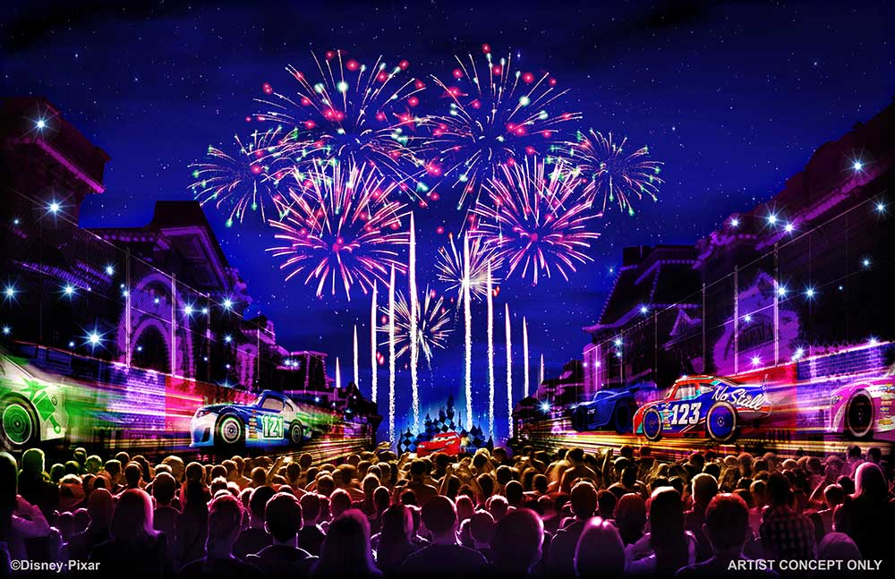 Together Forever – A Pixar Nighttime Spectacular (C) Disney