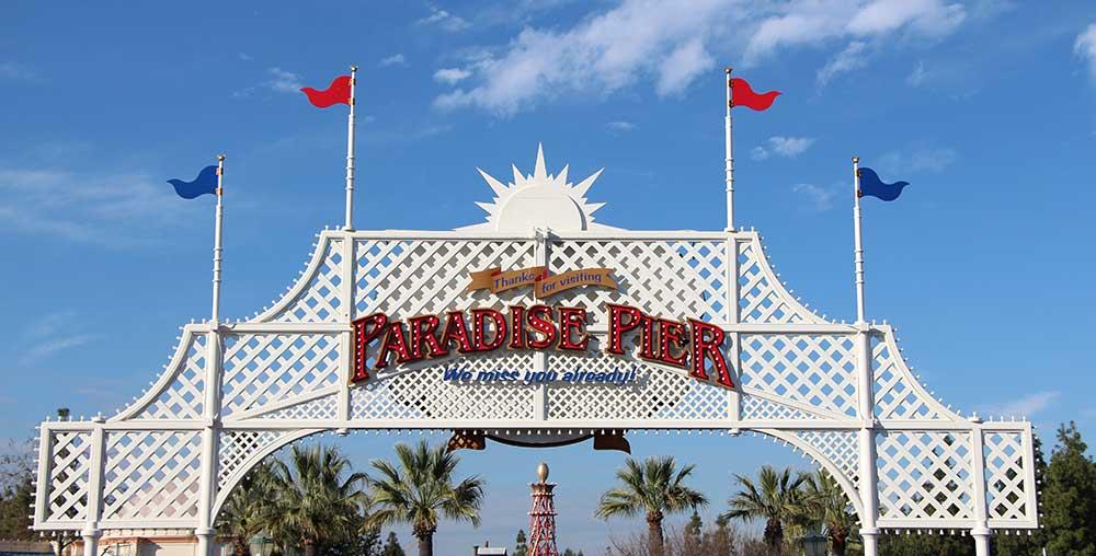 Disneyland Paradise Pier Becomes Pixar Pier
