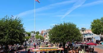 Disneyland's Flag Retreat Ceremony