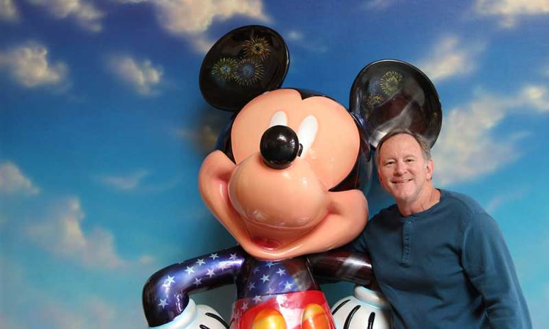 Military Disney Tips 10yrs Old Steve and Mickey