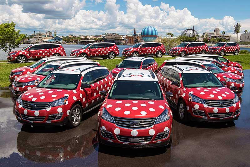 Walt Disney World's Minnie Van Service