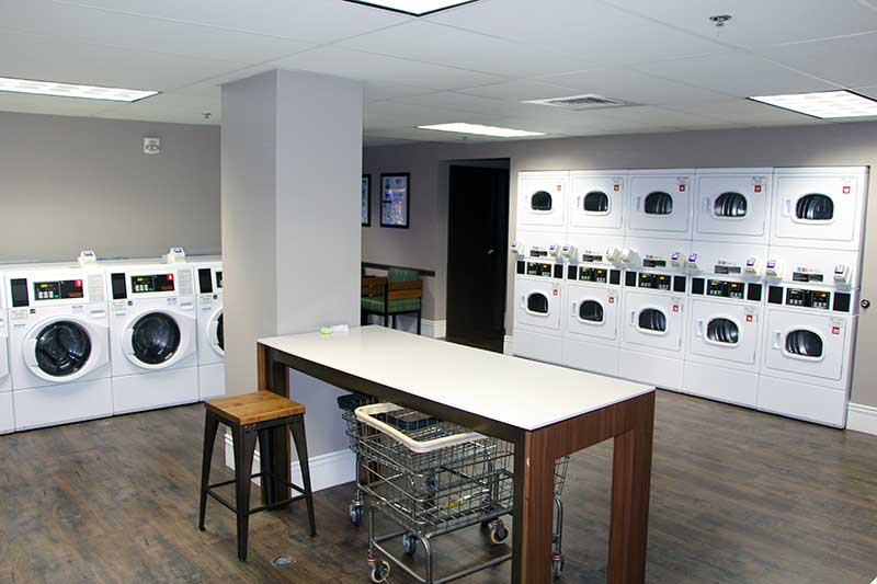 Shades of Green Guest Laundry