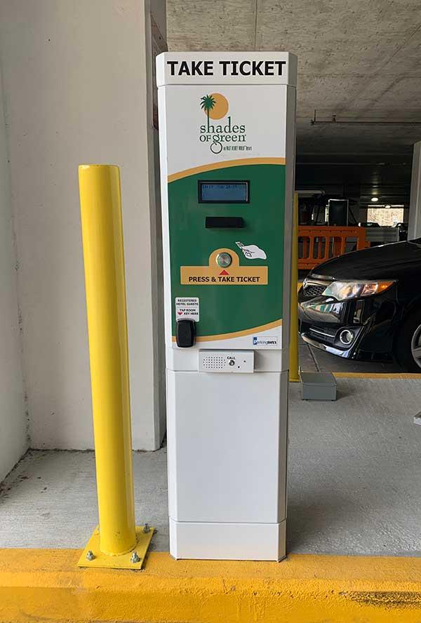 Shades of Green Increases Parking Rates