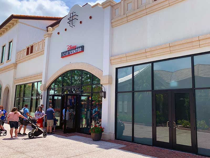 New Disney Ticket Center Opens at Disney Springs