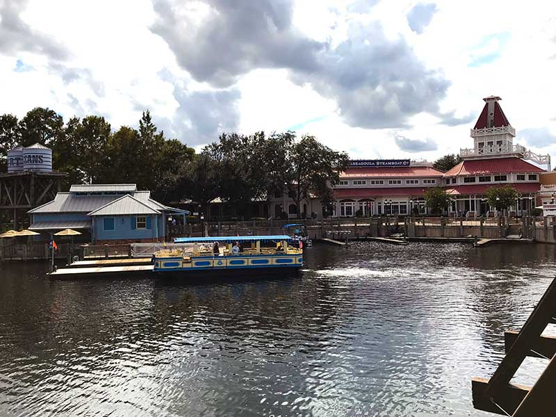 Disney Springs Resort Area Water Taxi At Port Orleans Riverside