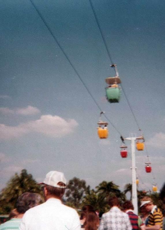 Walt Disney World Skyway Circa 1970s