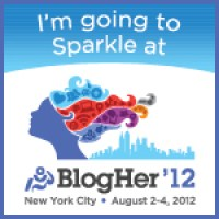 I'm going to Sparkle at BlogHer '12