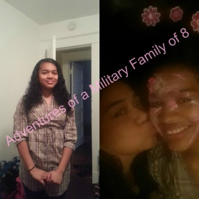 militaryfamof8, @militayrfamof8, adventures of a military family of 8, family, military, veteran, military veteran, military veteran family, birthday, teen daughter, family