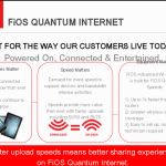My #LifeOnFiOS is so much easier with Quantum Internet…