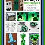 Over 15 Minecraft Snacks, Crafts, and Activities