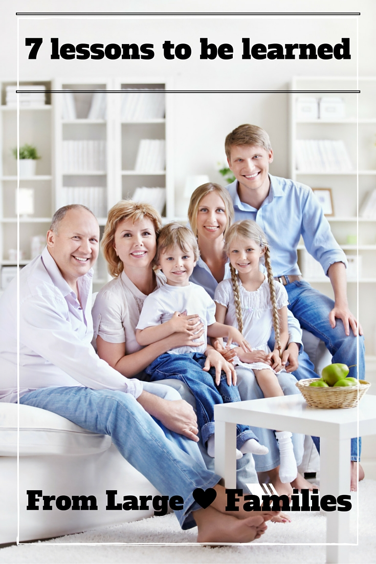 Lessons from Large Families