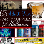 65 Adult Fun Party Supplies for Halloween Parties! Over 60 #Halloween Adult fun Party supplies on this list, whether you're looking to throw a fun Party, or to decorate your home; this list has something for everyone!