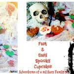 Fast & Easy Spooky Halloween Cupcakes