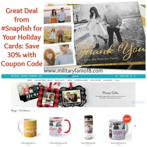 Great Deal from #Snapfish for Your Holiday Cards: Save 30% with Coupon Code