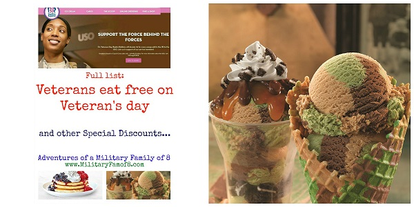 veterans eat free on veterans day