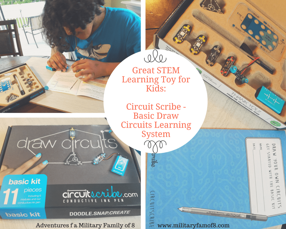 Great STEM Learning Toy for Kids Circuit Scribe Basic - Draw Circuits Learning System