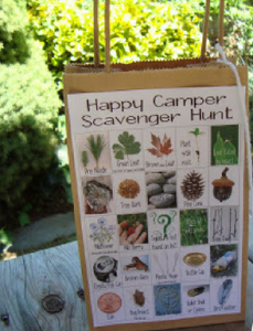 20 Tips to Make Camping Easier and Fun Camping Scavenger Hunt