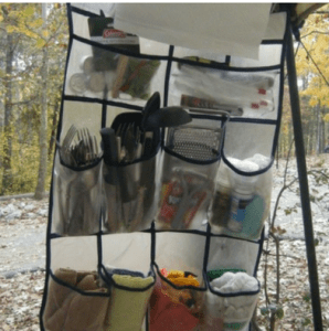 20 Tips to Make Camping Easier and Fun camp kitchen organizer