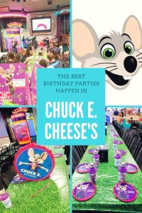 The Best Birthday Parties Happen in Chuck E. Cheese!