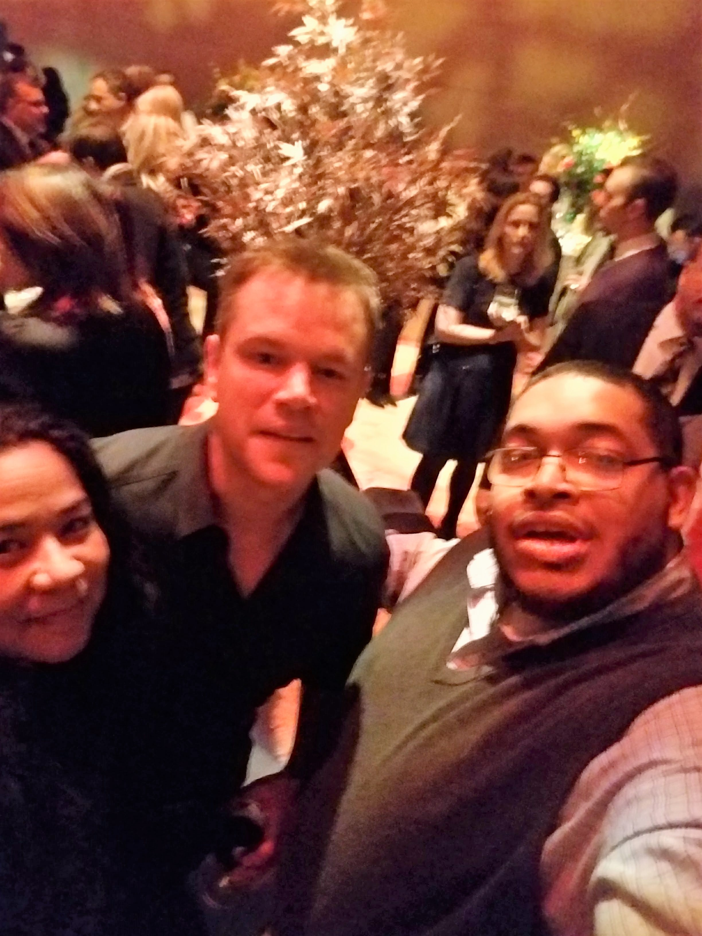 12 Strong- My Story of Meeting the 12 Horsemen and Attending the World Premier- Actor Matt Damon