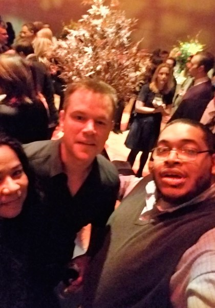 12 Strong- My Story of Meeting the 12 Horsemen and Attending the World Premier- Actor Matt Damon