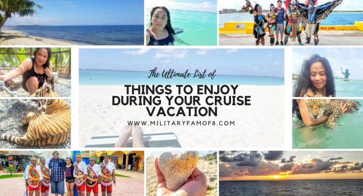 Things to Enjoy During your Cruise Vacation