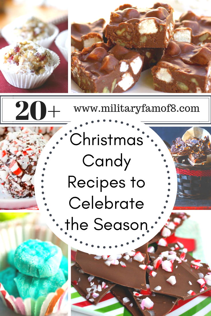 20 Christmas Candy Recipes to Celebrate the Season. If you are looking for recipes to make everything from cookies to chocolate bars then you have found the right place! This post contains 20 delicious recipes and will continuously be updated to be ever growing. You can always make these candies throughout the year, no reason why chocolate truffles should be only for Christmas!