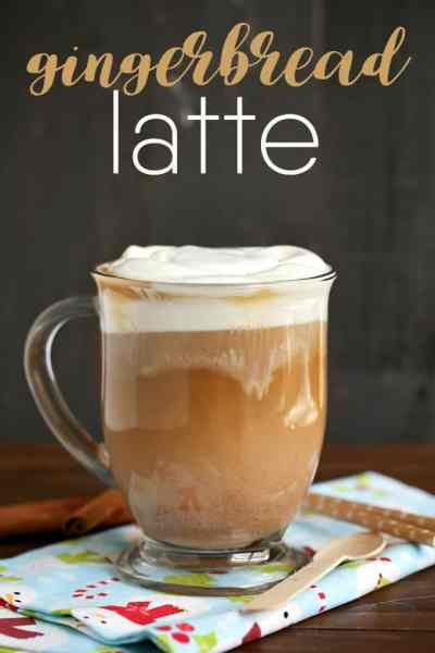 Gingerbread Latte Ultimate List of Holiday Cocktail & Mocktail Recipes