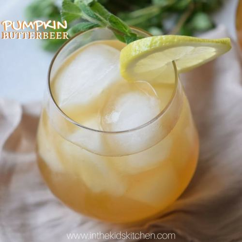 Harry Potter's Pumpkin Butterbeer Ultimate List of Holiday Cocktail & Mocktail Recipes