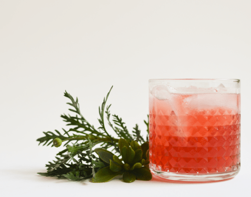 Spiced Cranberry Bourbon Cocktail Ultimate List of Holiday Cocktail & Mocktail Recipes