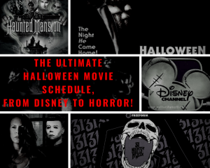 The Ultimate Halloween Movie Schedule from Disney to Horror!