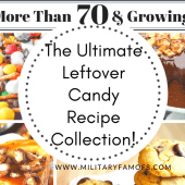 The Ultimate Leftover Candy Recipe Collection! With over 70 recipes you are sure to find ways to use left over candy in ways you did not imagine! From pies to ice cream to drinks, these recipes will blow your mind!