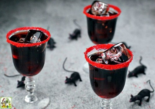 Dead Man's Kiss Cocktail Spookiest Halloween Drink Recipes Ever!
