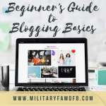 This Beginner's Guide to Blogging Basics will help you get started on the right foot. I began my blog using these steps and have been building on them, and I wanted to share them with you. I hope they help you begin this amazing journey!
